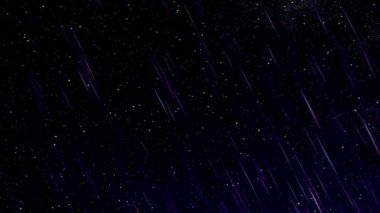 Perseid meteor shower — Vídeo Stock