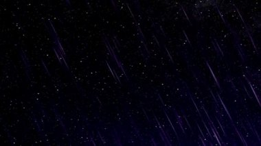 Perseid meteor shower — Vídeo de Stock