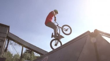 Extreme Cycling — Vídeo de Stock