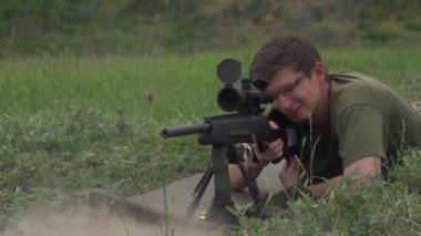 Sniper Shot — Stock Video