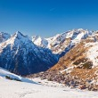 Ski resort in French Alps — Stock Photo
