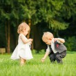 Children in the park — Stock Photo #12503228