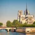 View on Notre Dame de Paris — Stock Photo