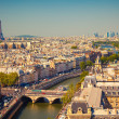 Stock Photo: View on Paris