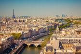Visa på paris — Stockfoto