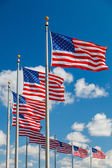 US Flags — Stock Photo