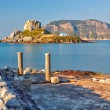 Ancient ruins on Kos, Greece - Foto Stock
