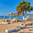 Ancient ruins on Kos — Stock Photo