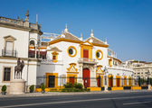 Plaza de Toros (arena) in Sevilla — Fotografia Stock