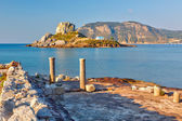 Ancient ruins on Kos, Greece — Stock Photo