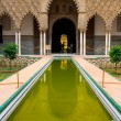 Alcazar palace in Sevilla - Stock Photo