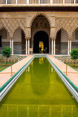 Alcazar palace in Sevilla — Stock Photo