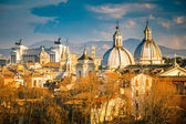 Aerial view of Rome — Stockfoto