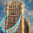 Tower Bridge in London — Stock Photo #13608350