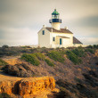 Stock Photo: Point LomLighthouse