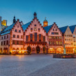 Historic Center of Frankfurt - Stock Photo