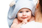 Mãe segurando bebê — Foto Stock
