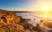 Big Sur at sunset — Stock Photo