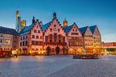 Historic Center of Frankfurt — Stock Photo