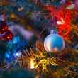 Decorated x-mas tree — Stock Photo #14289539