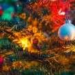 Decorated x-mas tree — Stock Photo #14289577