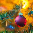 Stock Photo: Decorated x-mas tree