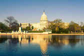 US Capitol at evening — Stock Photo