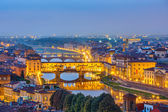 View on Arno river in Florence — Stock Photo