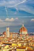 Duomo cathedral in Florence — Stock Photo