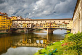 Ponte Vecchio in Florence — Stock Photo