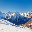 Ski resort in French Alps — Stock Photo #15862809
