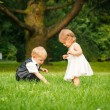 Children in the park - Stockfoto