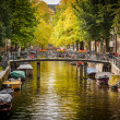 Canal in Amsterdam — Stock Photo #15862991
