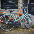 Stock Photo: Bicycles in Amsterdam