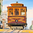 Cable car in San Francisco — Stock Photo #15863625
