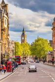 Whitehall sreet in London — Stock Photo