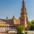 Plaza de Espana in Sevilla — Stock Photo