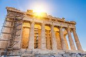 Parthenon in Acropolis, Athens — Stock Photo