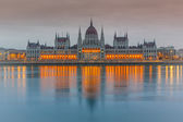 здание парламента, будапешт — Стоковое фото