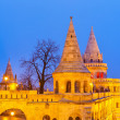 Fisherman Bastion in Budapest — Stock Photo #19903899