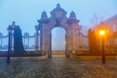 Gate to Buda Castle, Budapest — Stock Photo