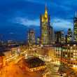 Frankfurt at night — Stock Photo #20234461