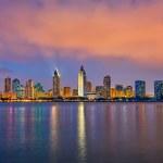 San Diego at night — Stock Photo #20815935