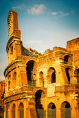 Colosseum at sunset — Stockfoto