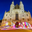 图库照片: St. Stephcathedral in Vienna