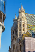 St. Stephan cathedral in Vienna — Foto de Stock