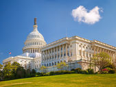 US Capitol at sunny day — Stock Photo