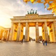 Brandenburg gate at sunset — Stok Fotoğraf #29806717