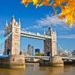 Tower bridge i london — Stockfoto #30852717