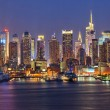 Manhattan at night — Stock Photo #30854329